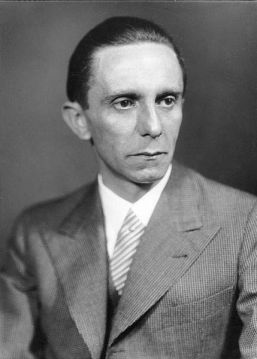 Goebbels wanted the four railroad squares for nefarious purposes.