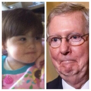 A Mitch McConnell impersonator.